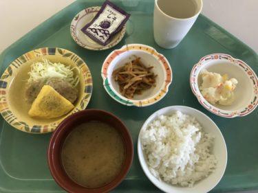 倉敷中庄『川崎医大病院学生職員食堂』栄養バランスの和朝食モーニング!