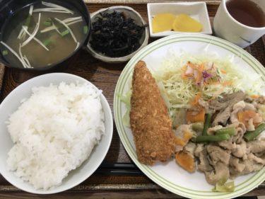 岡山今『レストラン今辰』サラリーマンご用達の定食屋で日替わりランチ!