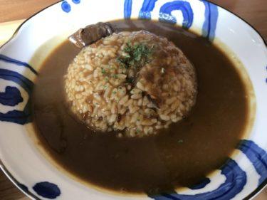 岡山関『カレーファクトリー莉楽(りらく)』朝食モーニングもカレーライス!