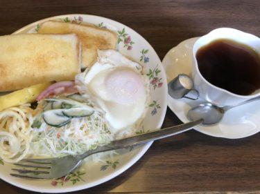岡山高屋『コペン珈琲専科 』古き良き喫茶店で朝食モーニングとコーヒー!