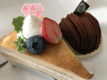 岡山今ケーキ屋『アンフルール』生チョコモンブランとシュークリーム!