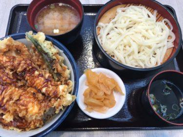 イオン倉敷『天丼てんや』毎月18日は天丼390円と割引クーポンまで!