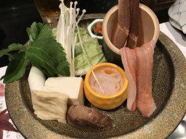 岡山本町『かに道楽』カニの天ぷらにステーキに寿司にしゃぶしゃぶだと!?