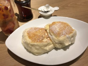 岡山中仙道『むさしの森珈琲』ふわとろパンケーキとモーニングがオススメ!