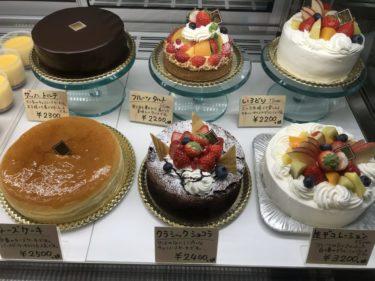 岡山玉野『ミルクパーラー洋菓子店』ケーキとシエルブルーのマカロン!