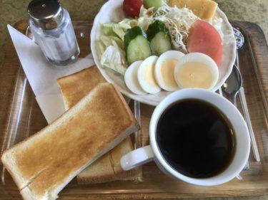 岡山田中喫茶店『スパイグラス』サラダの完成度が高すぎる朝食モーニング!