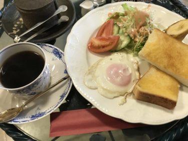 岡山東川原『喫茶ライム』ほっこりした店内で目玉焼きの朝食モーニング!