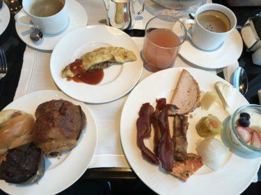 リッツカールトン香港『ザ ラウンジ&バー 』天空102階の朝食ビュッフェ!