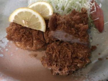 岡山奥田本町『とんかつの信幸』熟練の揚げ具合のヒレカツ定食ランチ!