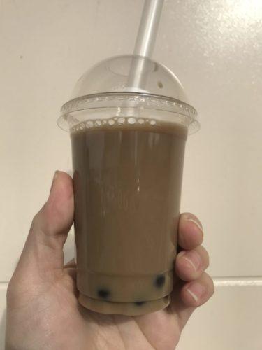 ディオ・ラムー『パクパク』タピオカミルクティーが100円で美味しい!