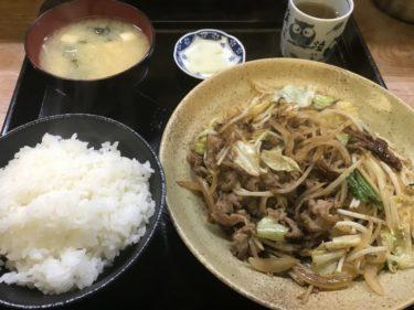 倉敷林『ぶんぶん食堂』ご飯が進む焼肉炒め定食とボリューミーなカツ丼!