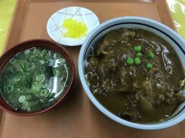 一般人でもOK『岡山市役所食堂』公務員の気持ちで洋風デミカツ丼ランチ!