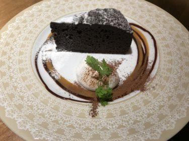 大阪梅田三番街『リバーカフェ』一汁六菜定食ランチとガトーショコラ!
