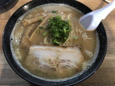 倉敷西中新田『麺屋がる』まさや食堂跡のラーメン屋で醤油豚骨ラーメン大盛!