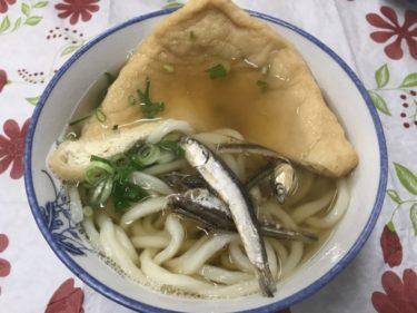 香川善通寺『宮川製麺所』セルフで出汁のイリコ食べ放題のきつねうどん!