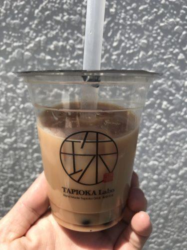 倉敷浜ノ茶屋『タピオカラボ』台湾直輸入の茶葉とタピオカのミルクティー!