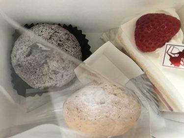 岡山今『リーヴルディマージュ』苺ショートケーキともちもちシュークリーム!