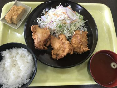 倉敷玉島『タマコッコ食堂』鶏の唐揚げ定食ご飯食べ放題とカツ丼ランチ!