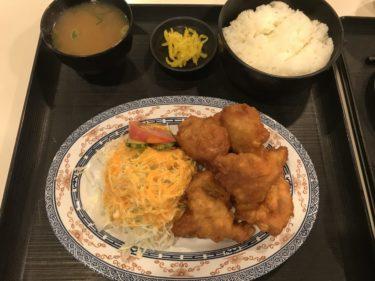 倉敷市役所『市庁舎食堂』公務員のように焼肉定食と鶏の唐揚げ定食ランチ!