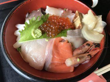 倉敷駅前『倉敷大衆割烹 千成』新鮮魚介の海鮮丼とアジフライ定食ランチ!
