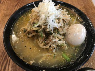 岡山表町『麺屋楽長。』豚骨ラーメンと叉焼丼とピリ辛四川ラーメンランチ!