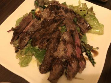 岡山柳町『オステリアロンド』夏野菜パスタにハラミステーキ豪華ディナー!