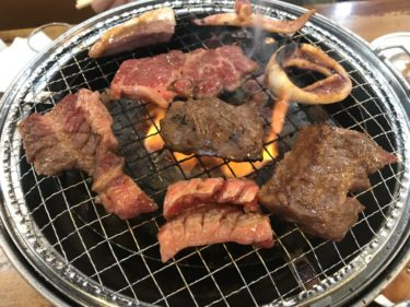 岡山中井町『焼肉亀八(きはち)』中落カルビとハラミがリーズナブルで激ウマ!
