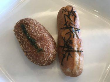 岡山浅口『ポッツピッピ』人気1位と2位の明太子フランスパンとしし丸!