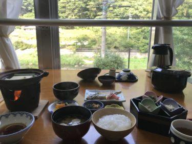 岡山湯原温泉『湯快感花やしき』和牛のすき焼き夕食と温泉湯豆腐の朝食!