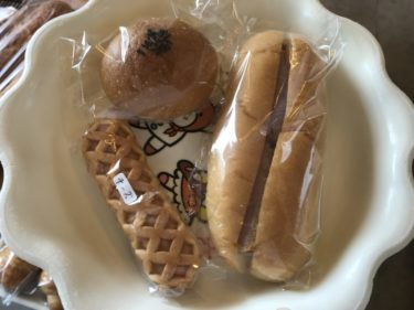 岡山真庭パン屋『ソレイユ』分厚いハムカツサンドと懐かしい原宿ドッグ!