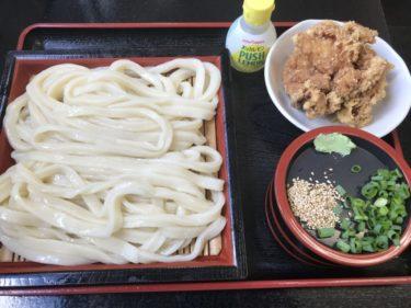 岡山矢掛町『若屋うどん』もちもち食感の肉ぶっかけと絶品鶏のから揚げ!