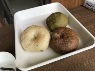 倉敷酒津『フルールマルシェ木々』お米ソムリエが作るチョコ米粉ベーグル!