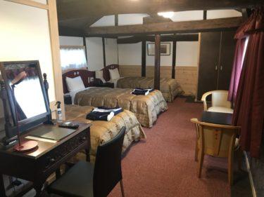 岡山の宿場町『矢掛屋』メゾネットで梁のある温泉旅館で一泊二日旅行!