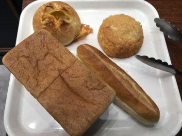 さんすて岡山『グランディール京都』黄金のロイヤル食パンとメロンパン!