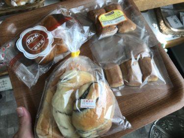 岡山美作『中村屋』懐かしさ漂う包装のチョコクリームパンと犬のおやつ!