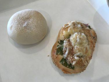 岡山山崎『パン処ぱなでりあ』無添加生地のカレーパンとフォンダンショコラ