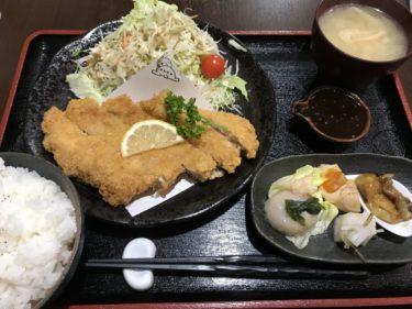 岡山矢掛町『満天茶屋』三元豚のトンカツ定食とチキン南蛮定食ランチ!