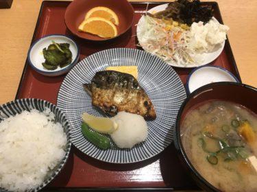アリオ倉敷『さち福や』鶏の唐揚げ定食で辛子明太子とご飯食べ放題ランチ!