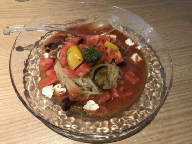 倉敷阿知『盛岡冷麺ピリ子』週一回限定の冷たいトマト冷麺とピリ辛冷麺!