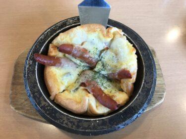 倉敷『ダイヤモンドピザ』辛いソーセージピザと豚しゃぶ冷製パスタランチ!