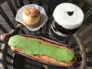 岡山玉野ケーキ屋『ル・リュバン』即完売のコーヒーゼリーと抹茶エクレア!