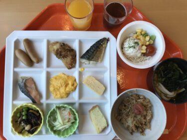 岡山玉野『瀬戸内マリンホテル』朝食ビュッフェで温玉めしとカレー食べ放題